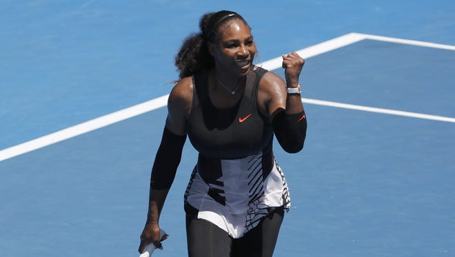 Serena Williams has not dropped a set through four rounds.