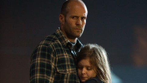 'Homefront' stars Jason Statham and Izabela Vidovic.