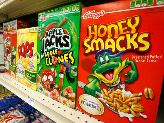 Cereal Honey Smacks, de Kellog's