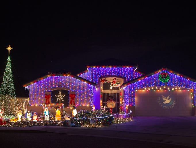 This Phoenix resident went all out, with thousands