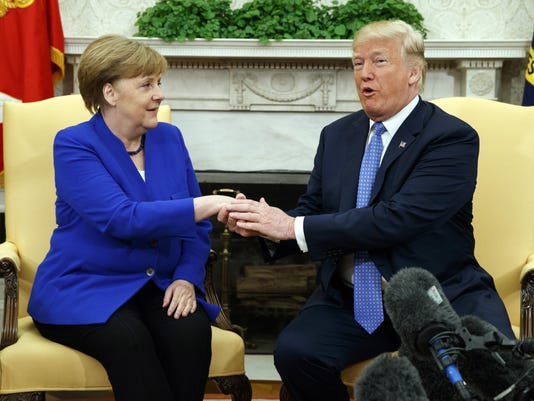 Donald Trump,Angela Merkel