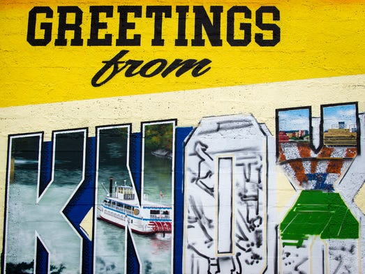 Greetings from knoxville mural part of national plan for Planning mural 2017
