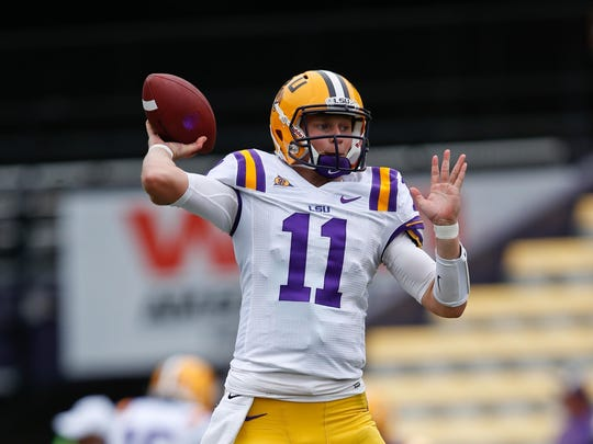 LSU transfer Hayden Rettig is expected to compete for the starting Rutgers' QB job.