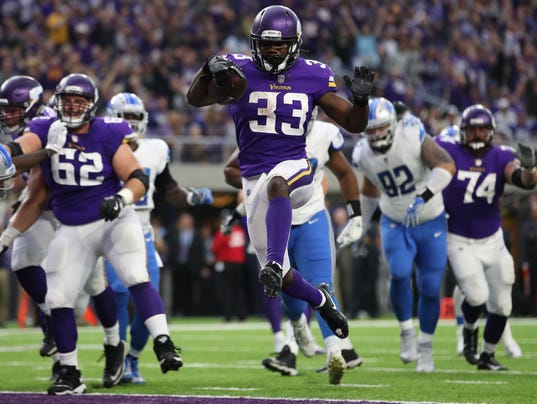 USP NFL: DETROIT LIONS AT MINNESOTA VIKINGS S FBN MIN DET USA MN