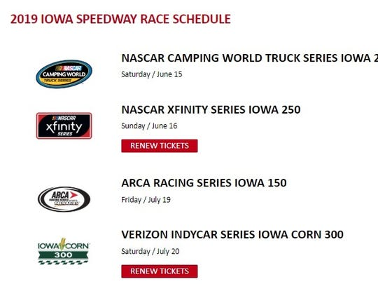 IndyCar's 2019 Iowa Corn 300 will take place on Saturday,