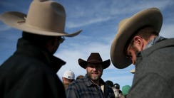 Ammon Bundy, the leader of an anti-government militia,