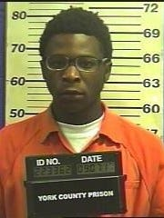 "Timothy Tireik Pough, who York City Police said is known as ""Reeko."""