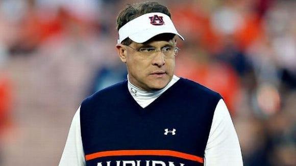 Auburn coach Gus Malzahn