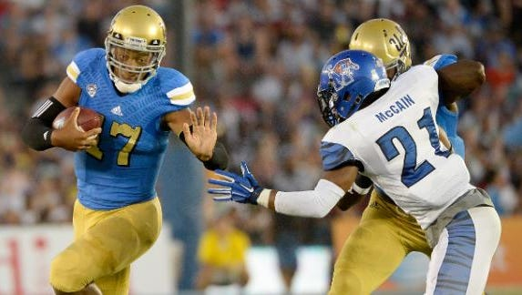 Memphis played UCLA tough earlier this month in Los Angeles.