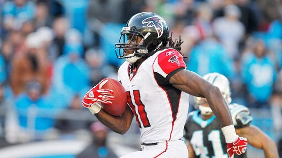 Former Alabama WR Julio Jones is looking to return from foot surgery on Week 1 of the 2014 NFL season