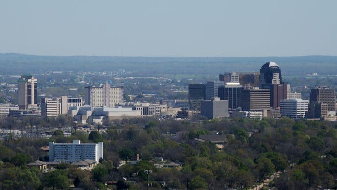 The city of Shreveport.
