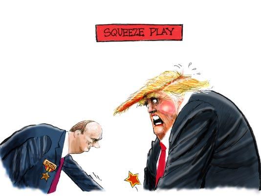 Putin's squeeze play