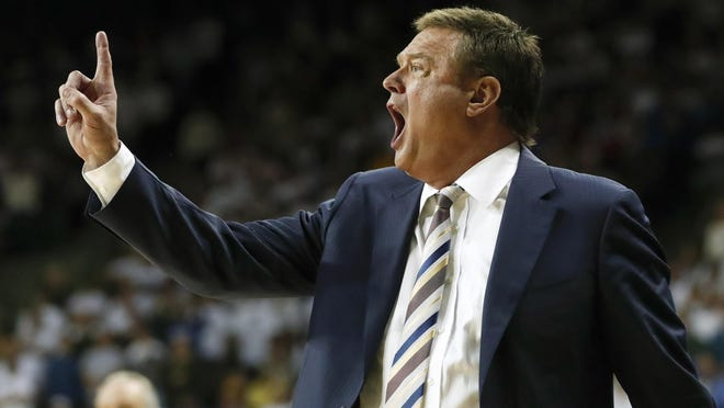 Bill Self and Kansas basketball are ranked sixth in the preseason Associated Press Top 25 poll released Monday.
