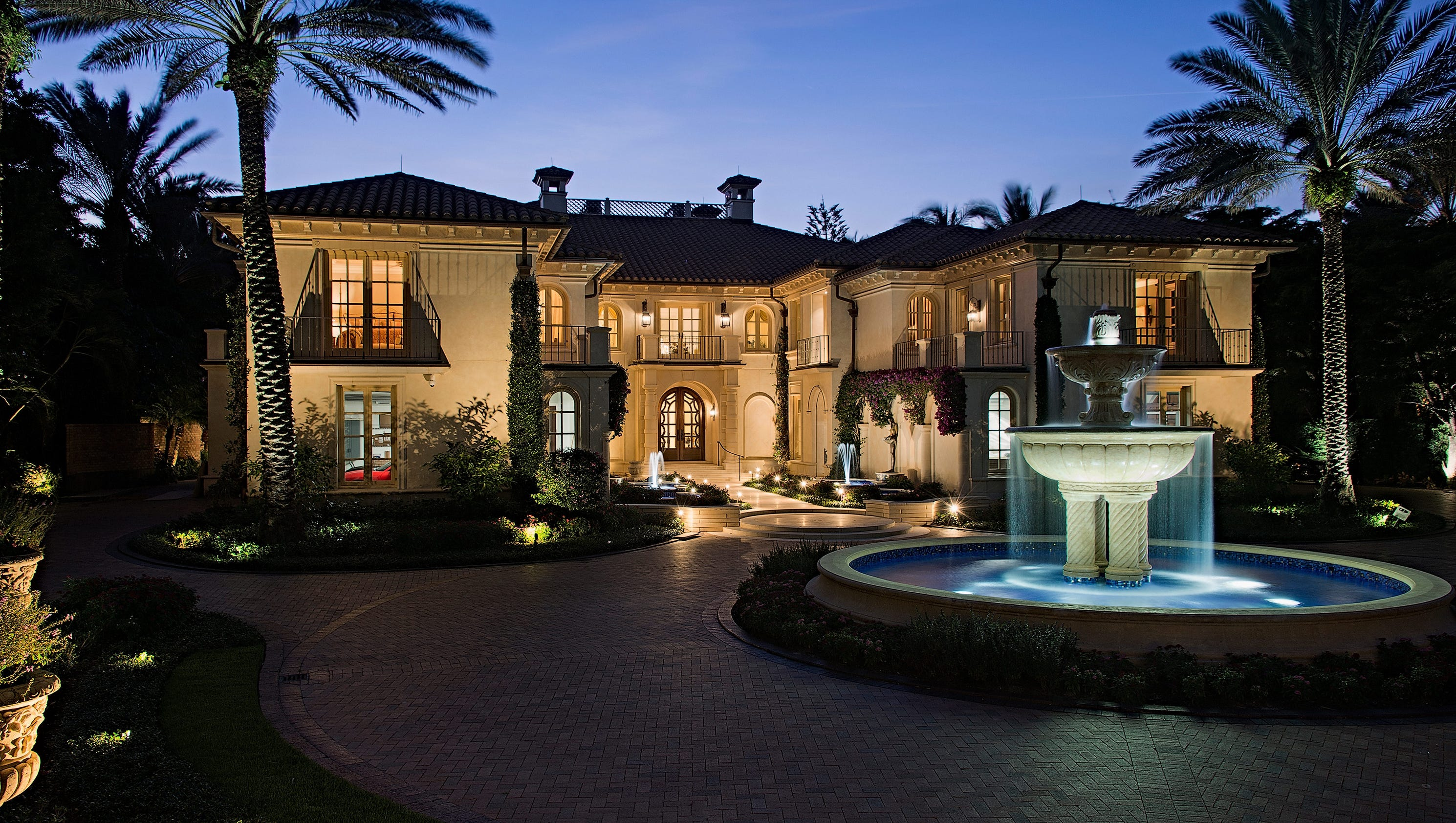 Two gulf front mansions in naples among priciest homes for for Florida estates for sale