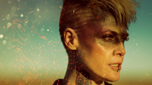 American heavy metal band Otep is performing at the
