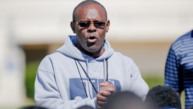 Tony  Hughes conducted his first scrimmage as Jackson State's coach on Saturday.