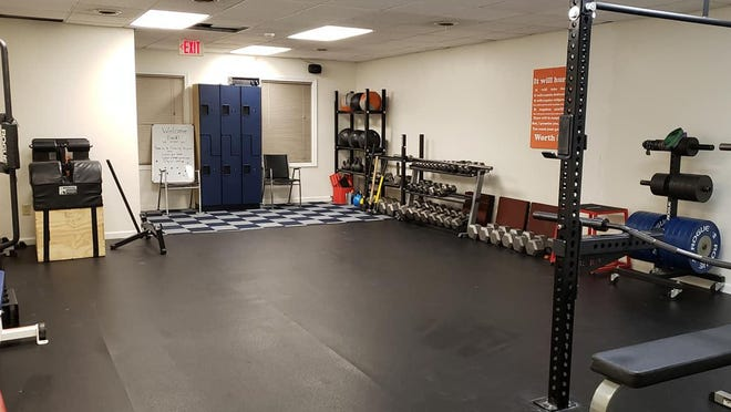 Integrated Fitness of Dover has leased additional space to give more room to its power-lifting training and allow for social distancing.