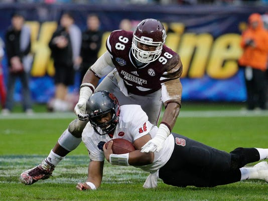 NCAA Football: Belk Bowl-North Carolina State vs Mississippi State