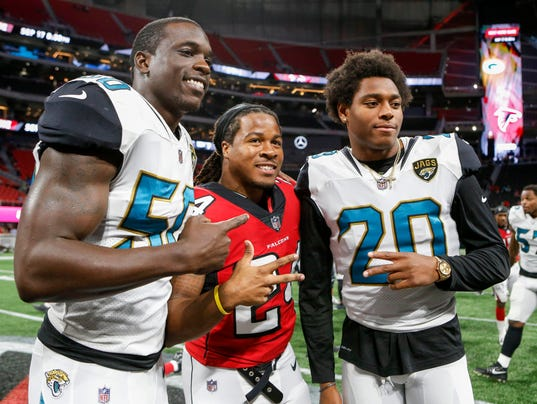 NFL: Jacksonville Jaguars at Atlanta Falcons