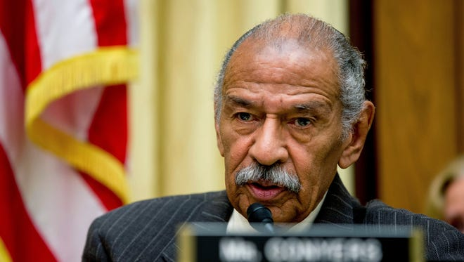 Rep. John Conyers, D-Mich., announced Tuesday, Dec. 5, 2017, that he is retiring from Congress effective Tuesday, Dec. 5, 2017. Conyers' announcement came amid accusations he sexually harassed employees.
