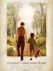 """""""Goodbye Christopher Robin"""" tells the backstory of A.A. Milne's Winnie the Pooh books, which were later turned into a popular Disney movie."""