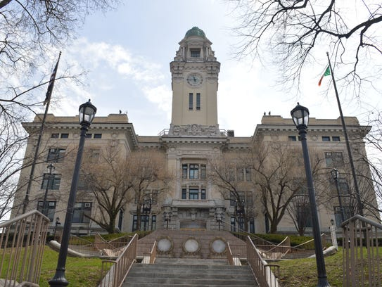 Yonkers City Hall was the site of the April 13, 2018