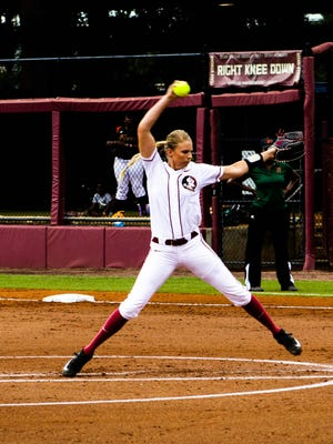Jessica Burroughs is 21-2 overall with 1,093 strikeouts and an 0.85 ERA for Florida State this season.