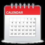 Sunday business calendar