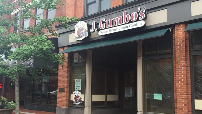 J. Gumbo's in downtown Wausau is closer to opening.