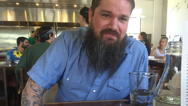 R.J. Wall, a founder of Chefs Night Off Indy, may be Indianapolis' biggest foodie. He's talking James Beard and eating uni spoons with soy, ginger and wasabi at Milktooth.