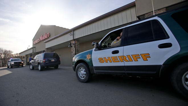 The San Juan County Sheriff's Office on Monday investigates a stabbing in Flora Vista. A man who told police he had been stabbed was dropped off at the Farmers Market grocery store in Flora Vista.
