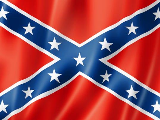 Confederate flag file photo