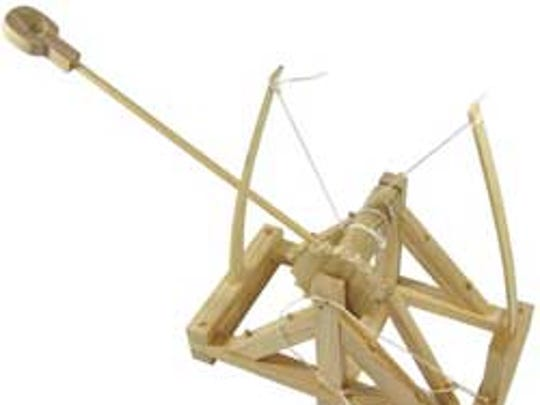 Trebuchets and catapult building kits are a great choice for a family building kit.