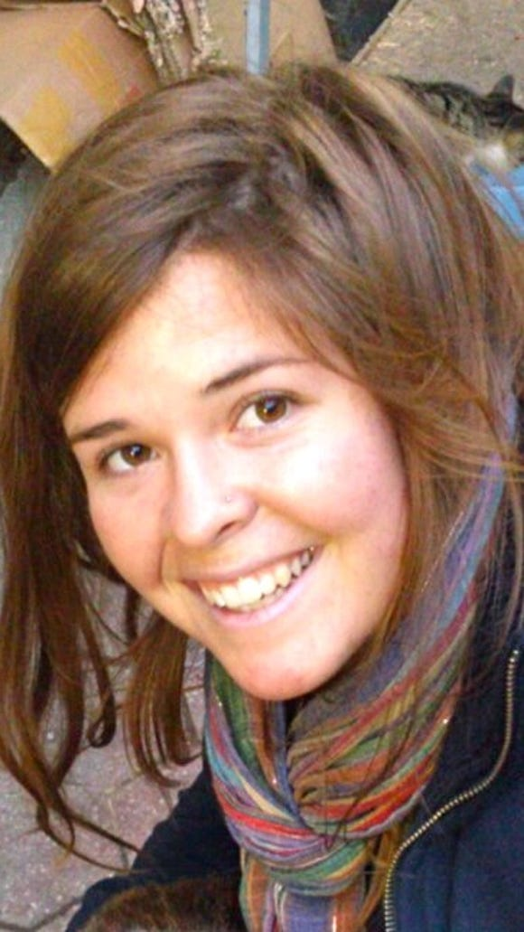 Kayla Mueller is a 26-year-old American humanitarian