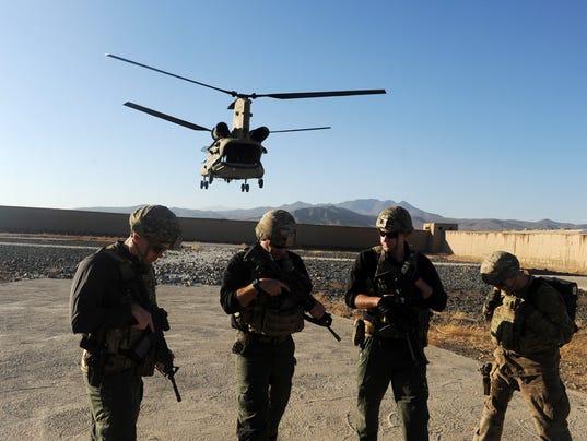 EPA AFGHANISTAN SPECIAL FORCE POL DEFENCE AFG