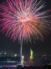 Seastreak's luxury ferry will offer revelers a breathtaking view of the New York City skyline and Statue of Liberty fireworks on New Year's Eve.