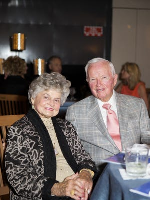 Joyce and John Caddell were honored as the recipients of the 2014 Tocqueville Society Award at the society's annual spring donor appreciation event.