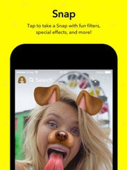 Snapchat has become wildly popular with teens and twenty-somethings