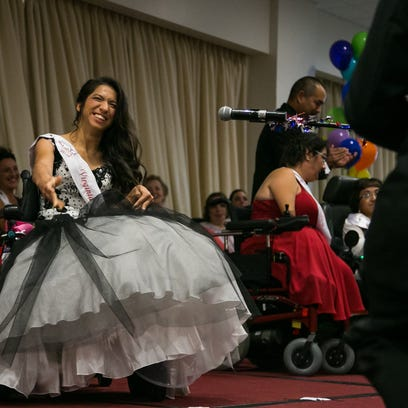 Ms. Wheelchair America contestant Angela West from
