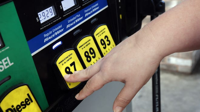 Floridians are feeling the pinch a little less at the gas pumps as fuel prices drop to the lowest they've been since 2010.