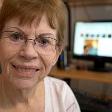 A portrait of Sharon Cripe, August 22, 2014, in her Glendale home. Baby Boomers are the fastest growing demographic for participation in online dating websites. And while it's still hit-or-miss, this generation finds this method easier than hitting bars, getting set up by friends or just trying to run into people on the street when looking for companionship or love.