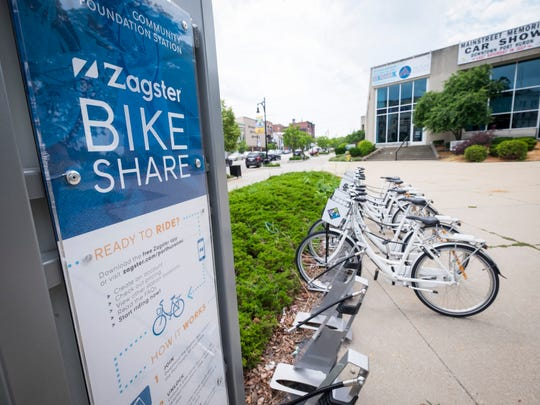 The Port Huron Area's Zagster bikes are entering their