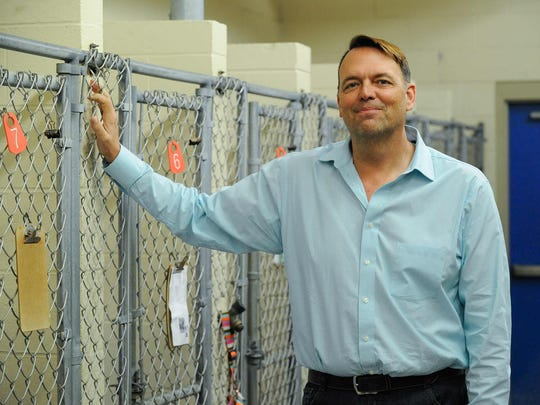 First State Animal Center Executive Director Kevin Usilton is shown at the Camden-Wyoming facility on Tuesday. He said a 2013 New Castle County audit was motivated by those who don't like the shelter's stance on killing unwanted animals.