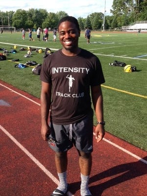 The Intensity Track Club is based out of Wayne Memorial and is coached by Jamal Johnson.