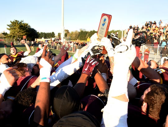The Sea Gulls won the New Jersey Athletic Conference