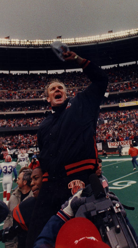 Sam Wyche was an original Bengals player and then led
