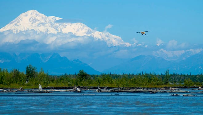 Take a flightseeing tour in Alaska for views you would otherwise miss.