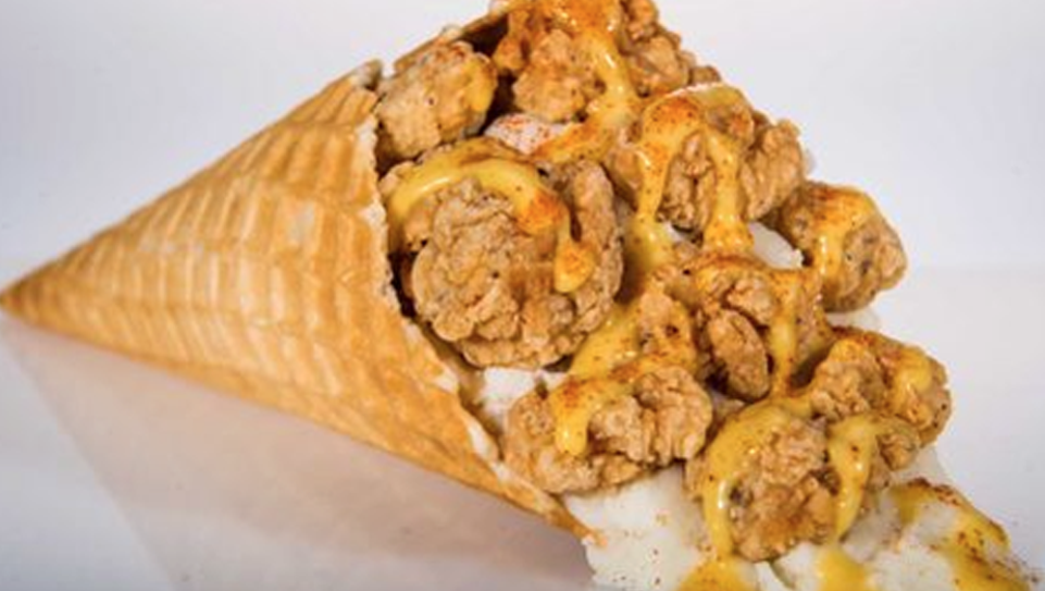 "The ""Chicken and Waffle Cone"" is the Astros' newest"