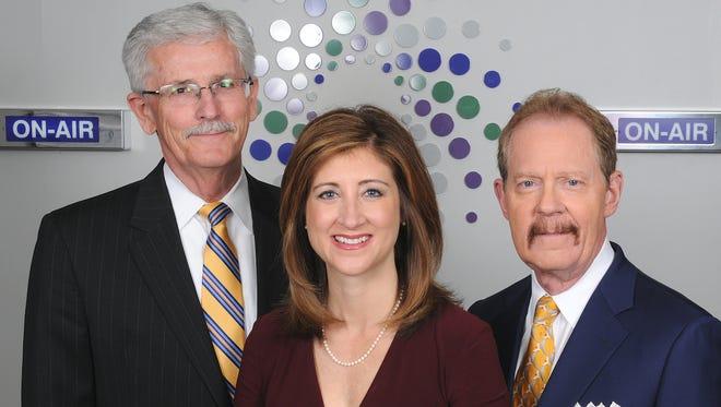 Ed Finke, Amy Wagner and Nathan Bachrach