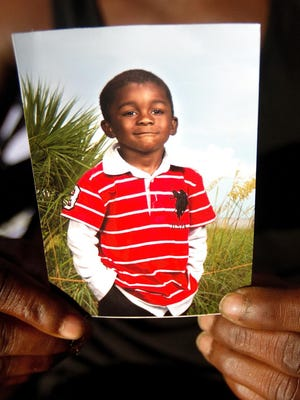 FILE: Andrew Faust, 5, was killed in October.